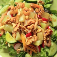 Avocado/meloen salade