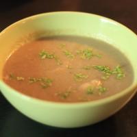 Champignon-appel-gember Soep