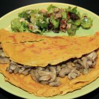 Omelet van Silken tofu
